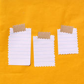 Note papers — Stock Photo