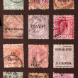 Old stamps — Stock Photo #3672284