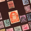 Old stamps - Stock Photo