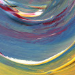Abstract hand painted art — Stock Photo