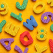 Alphabet blocks — Stockfoto #3729347