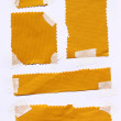 Masking tape with paper — Stock Photo #3797022