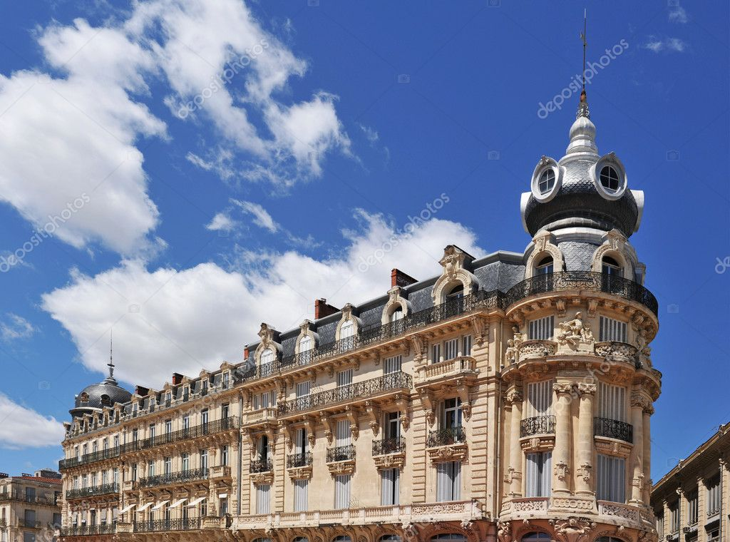 French architecture in montpellier stock photo for Montpellier architecture