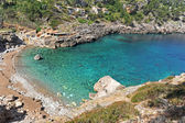 Beach of Veia de Majorque, island near Spain in Europe — Stock Photo