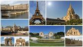 Monuments of Paris — Stock Photo