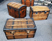 Old trunks — Stock Photo