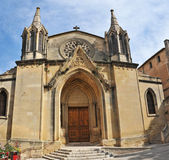 Church of Sommieres — Stock Photo