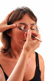 Preparing Make Up — Stock Photo