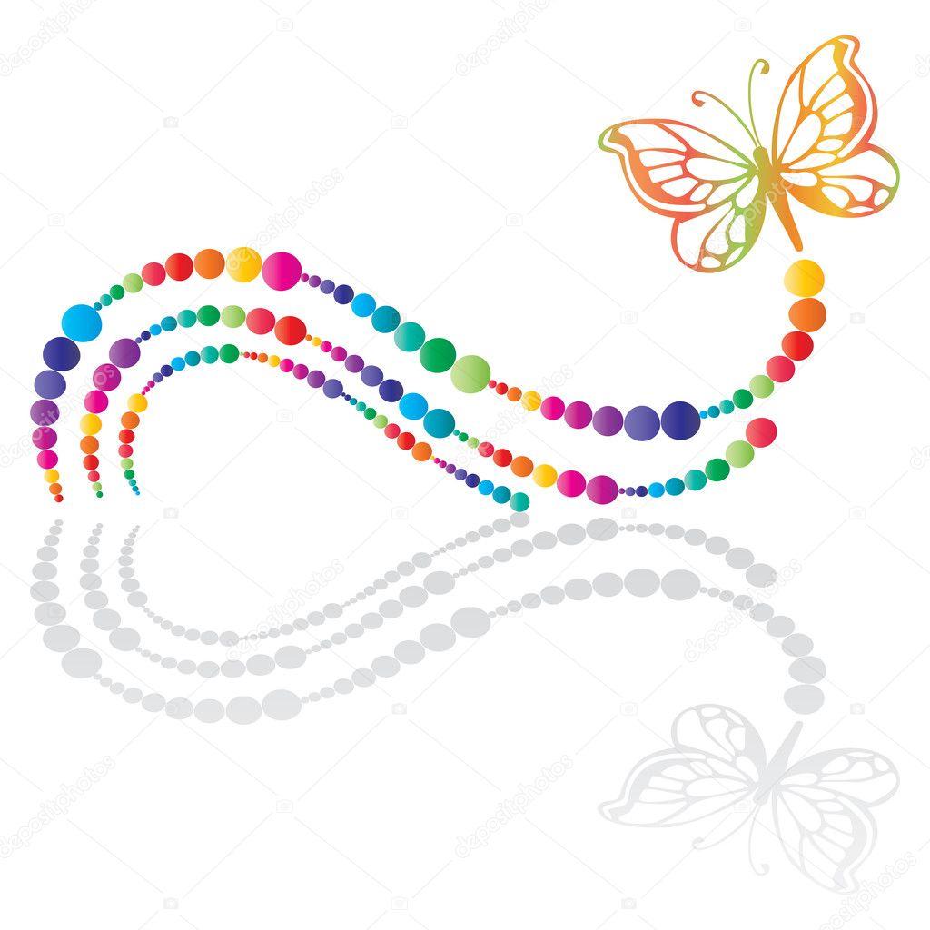 Schmetterling-Symbol — Stockvektor © milinz #3011060: de.depositphotos.com/3011060/stock-illustration-butterfly-icon.html