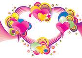 Valentines Day background — Διανυσματικό Αρχείο