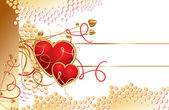 Miłość serca — Wektor stockowy