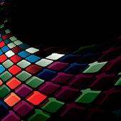 Shiny mosaic — Stock Vector