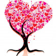 Royalty-Free Stock Imagem Vetorial: Love tree