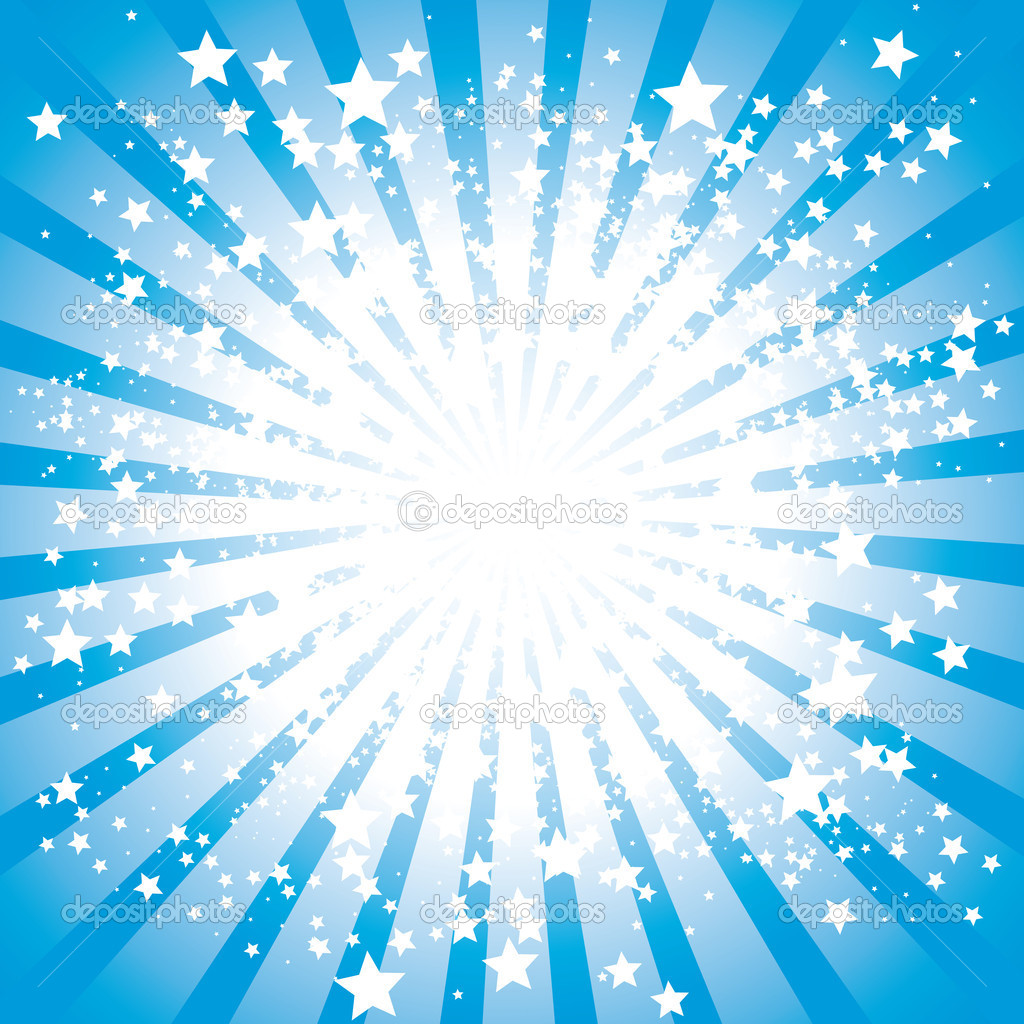 Abstract stars burst, vector illustration — Stock Vector #3624039