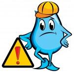 Blinky under construction — Stock Vector #3866954