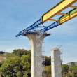 Viaduc en construction — Stock Photo #3872071