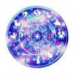 Illustration of a zodiac disc — Stock Photo #2709974