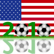 Soccer 2010 USA — Stock Photo #2758061