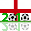 Stock Photo: Soccer 2010 England