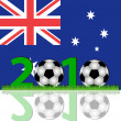 Soccer 2010 Australia — Stock Photo #2758095