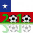 Soccer 2010 Chile — Stock Photo #2758102
