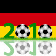 Stock Photo: Soccer 2010 Germany