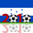 Stock Photo: Soccer 2010 Honduras