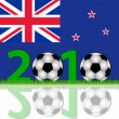 Stock Photo: Soccer 2010 New Zealand
