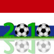 Stock Photo: Soccer 2010 Netherlands