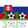 Stock Photo: Soccer 2010 Slovakia