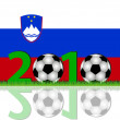 Stock Photo: Soccer 2010 Slovenia