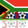 Soccer 2010 South Africa — Stock Photo