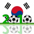 Soccer 2010 South Korea — Stock Photo #2758370