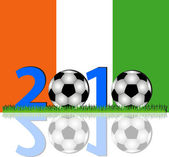 Soccer 2010 Ivory Coast — Stock Photo