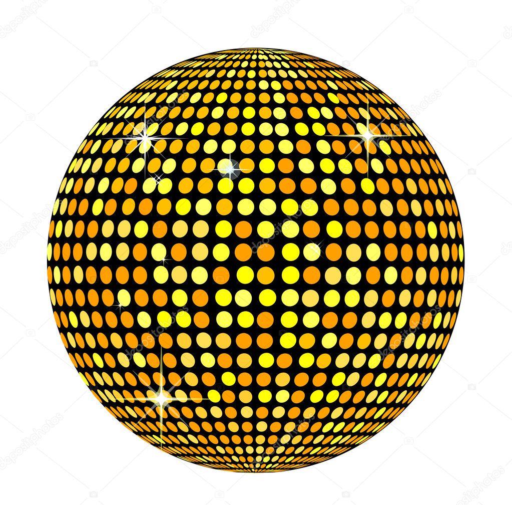 Disco ball stock photo michanolimit 2843162 - Bola de discoteca de colores ...