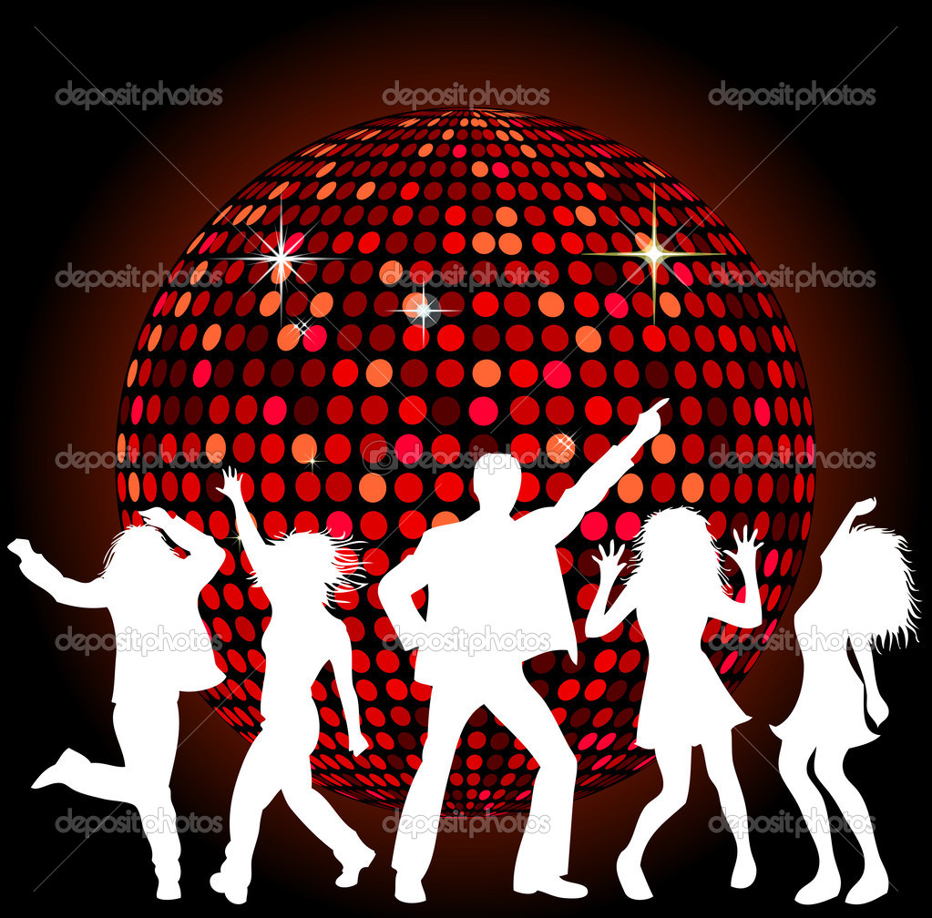 Bola de discoteca y baile foto de stock michanolimit - Bola de discoteca de colores ...