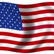 Stock Photo: National Flag of the USA