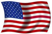 National Flag of the USA — Foto de Stock