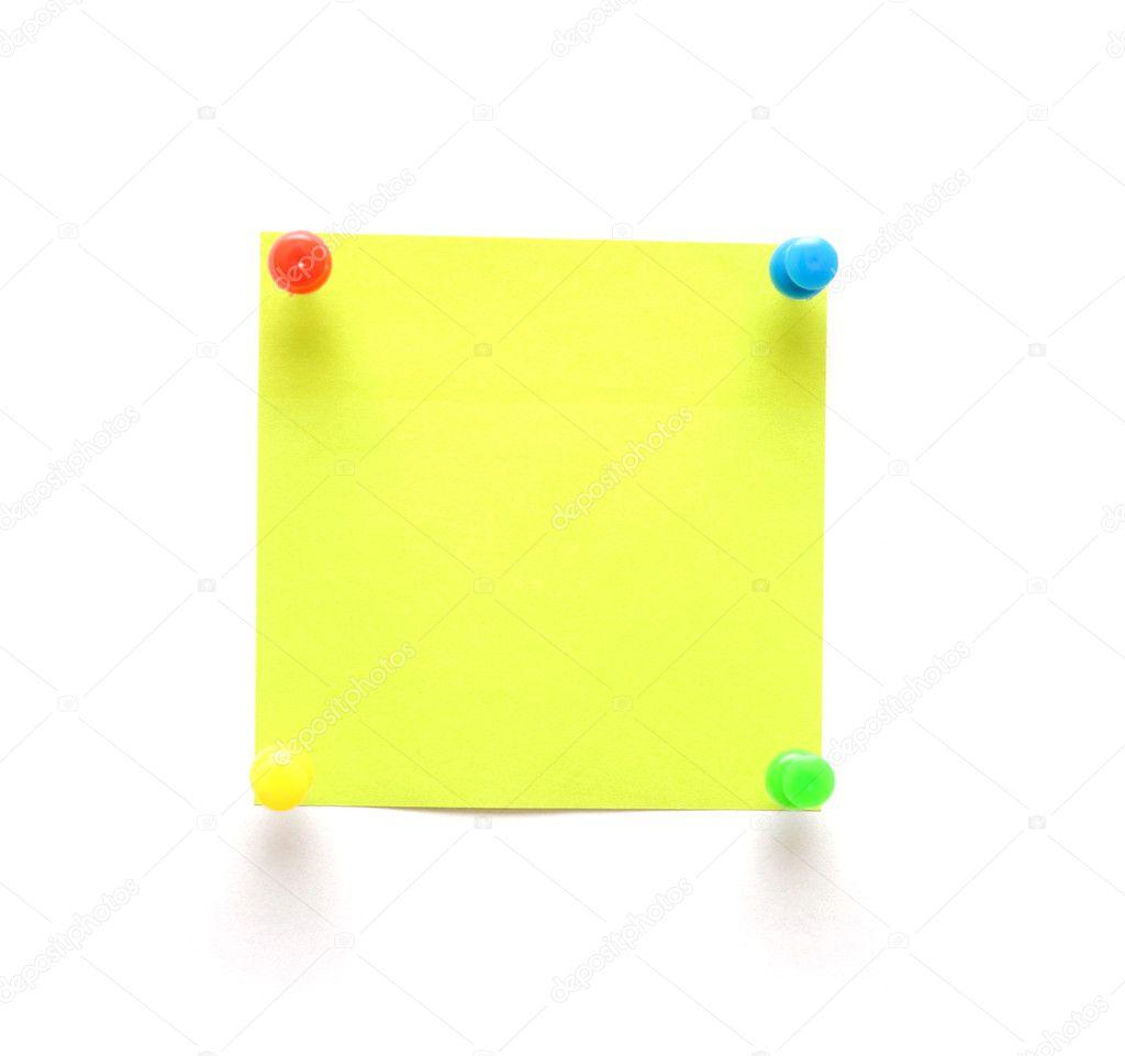 Green Sticky Note