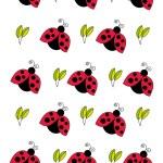Red ladybird ornament — Stock Photo