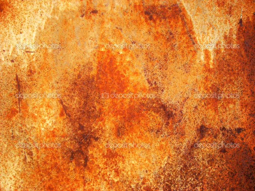 Orange aged rusty wall, texture                                        — Stock Photo #2759720