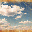 Vintage sky background — Stock Photo