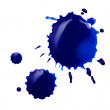 Blue blot — Stock Photo