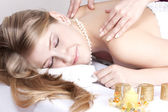 Massage procedures — Stock Photo