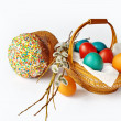 Easter still-life — Stock Photo