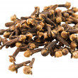 Clove on white background - Stock Photo