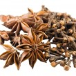 Stock Photo: Anise and clove