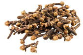 Clove on white background — Stock Photo