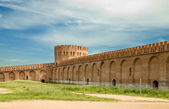The fortress wall. Russia — Stock Photo