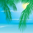 Royalty-Free Stock Vector Image: Tropical palm